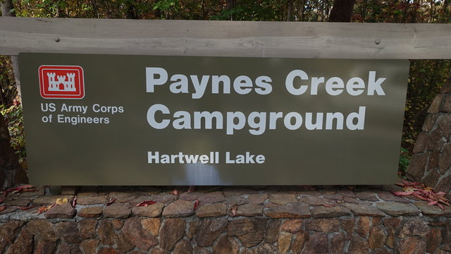 Paynes creek campground