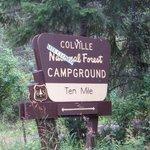 Ten mile campground
