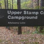 Upper stamp creek campground