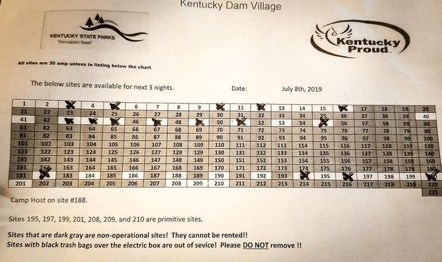 Kentucky dam village state park