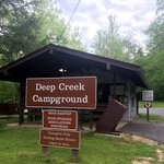 Deep creek campground great smokey mountains np