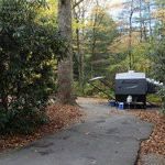 North mills river campground
