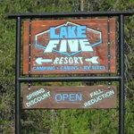Lake five resort