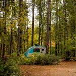 Glacier campground
