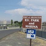 Port of arlington rv park marina