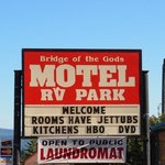 Bridge of the gods motel rv park and cabins