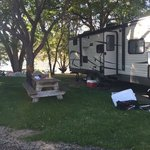 Peach beach campground