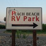 Peach beach campground