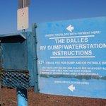 Port of the dalles dump station