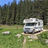 A campground in Black Hills National Forest