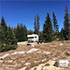 A campground in Medicine Bow National Forest