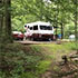 A campground in Pisgah National Forest
