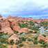 A campground in Arches National Park