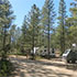 A campground in Bryce Canyon National Park