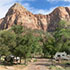 A campground in Zion National Park
